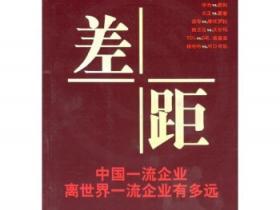 差距 中国一流企业离世界一流企业有多远pdf