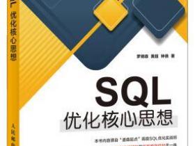SQL优化核心思想epub