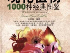观花植物1000种经典图鉴pdf