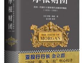 摩根财团 美国一代银行王朝和现代金融业的崛起(1838~1990)pdf