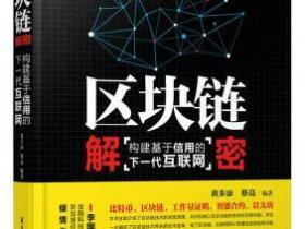 区块链解密 构建基于信用的下一代互联网epub
