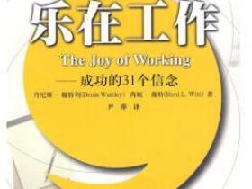 乐在工作 成功的31个信念pdf