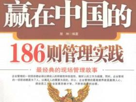 赢在中国的186则管理实践 最经典的现场管理故事pdf