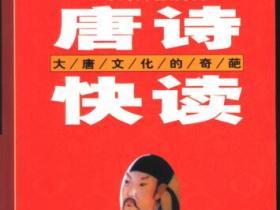 唐诗快读 大唐文化的奇葩 第2版pdf