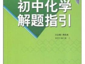 初中化学解题指引pdf