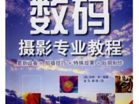 数码摄影专业教程pdf