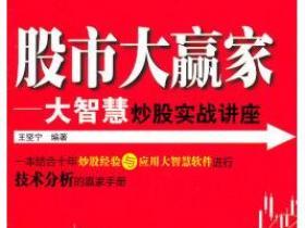 股市大赢家 大智慧炒股实战讲座pdf