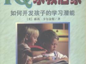 IQ家教启蒙 如何开发孩子的学习潜能pdf