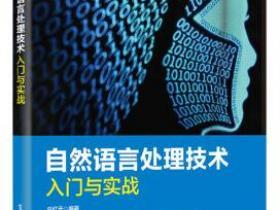 自然语言处理技术入门与实战pdf