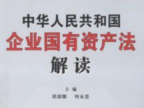 中华人民共和国企业国有资产法解读pdf