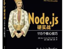 Node.js硬实战 115个核心技巧pdf