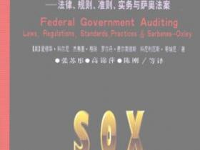 联邦政府审计 法律 规则 准则 实务与萨奥法案pdf