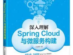 深入理解Spring Cloud与微服务构建pdf